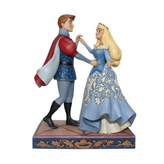 aurora e il principe al ballo